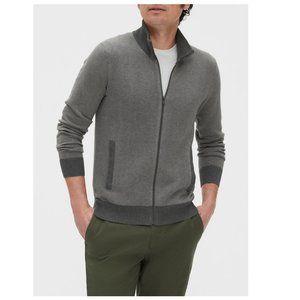 NWT Banana Republic Mock-Neck Sweater Jacket XL